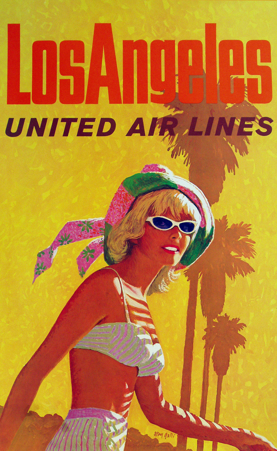 Los Angeles – United Airlines.