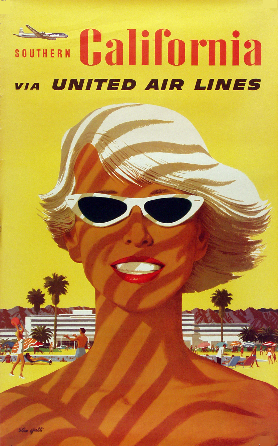 United Airlines Southern California