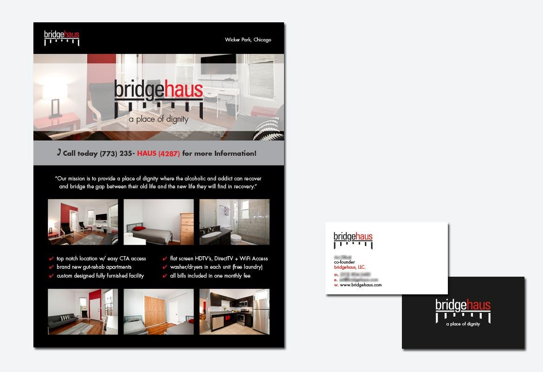 bridgehaus take away printed piece– Kural Design