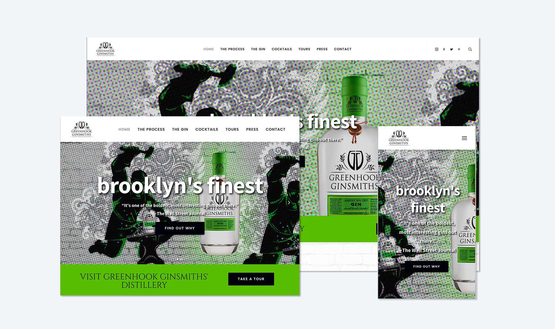 Greenhook Ginsmiths Screenshot 2 – Kural Design