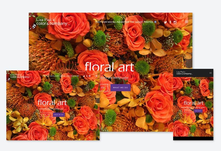 Color & Company... Website Screen Grabs – Kural Design