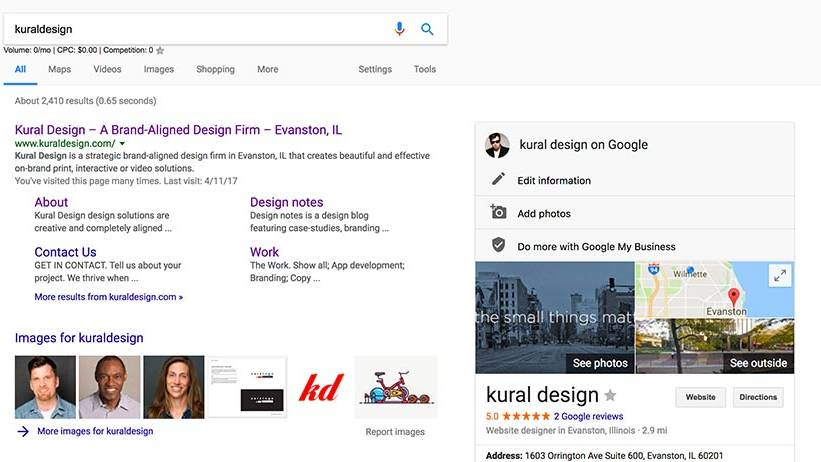 Google Page Rank Article kuraldesign