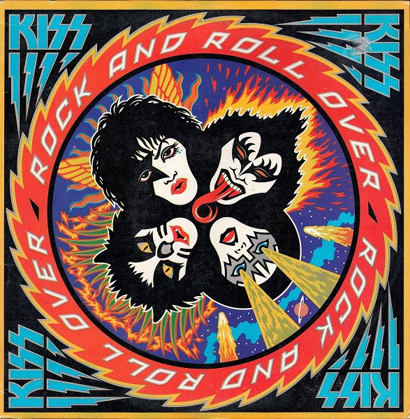 The 1976 Rock And Roll Over is one of my favorite Kiss Album covers
